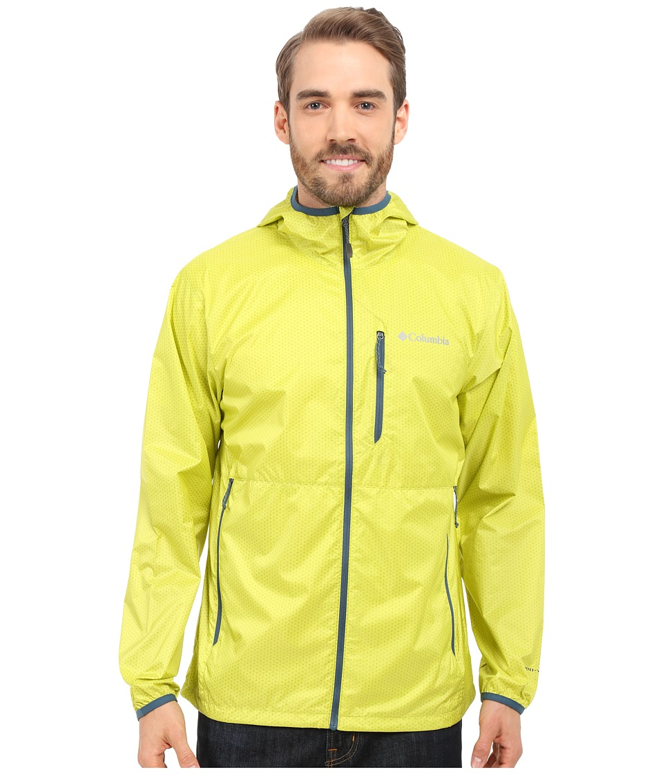 Columbia - Trail Drier Jacket (Chartreuse/Everblue) Men's Coat