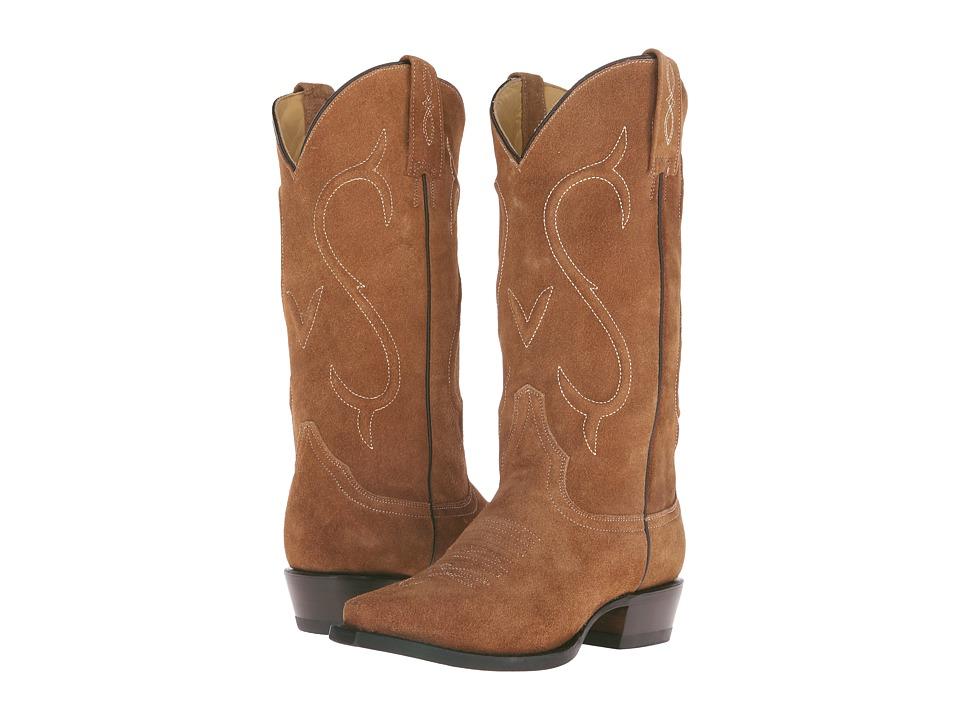 Stetson Reagan Snip (Brown) Cowboy Boots