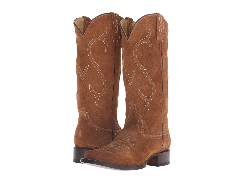 Stetson - Reagan Square (Brown) Cowboy Boots