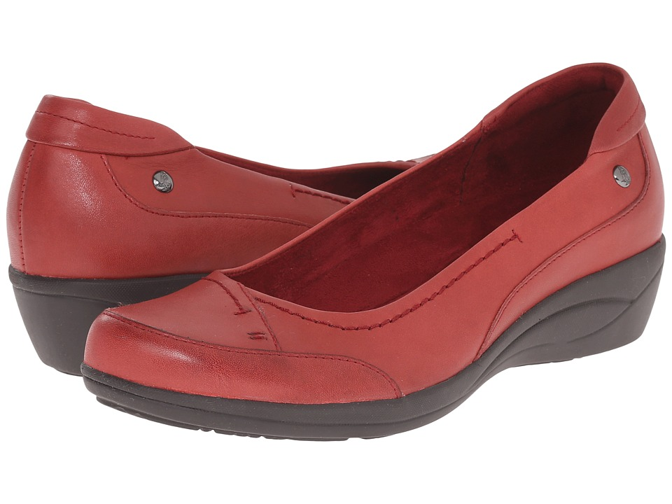 Hush Puppies Kellin Oleena (Dark Red Leather) Women