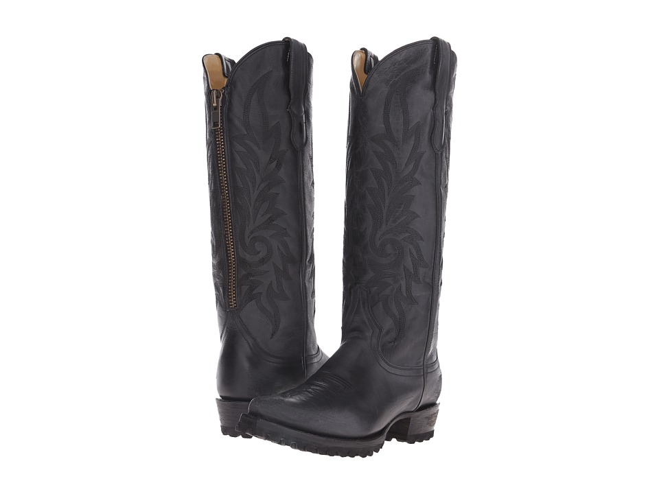 Stetson - Lucy (Black Vamp) Cowboy Boots