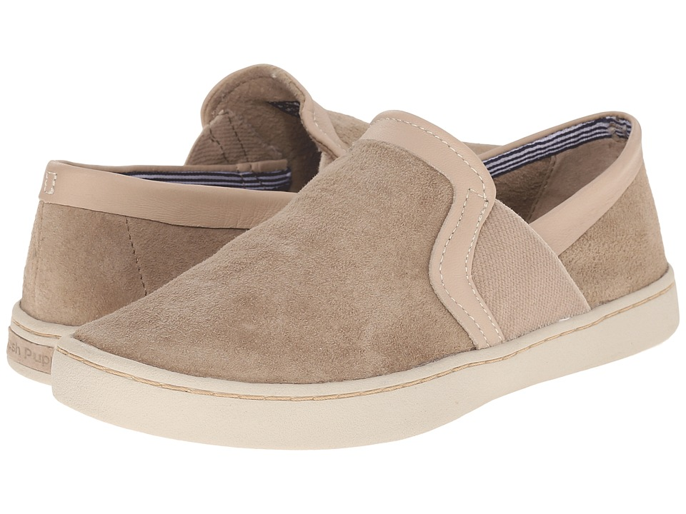Hush Puppies - Cherish Gwen (Light Taupe Suede) Women's Slip on Shoes