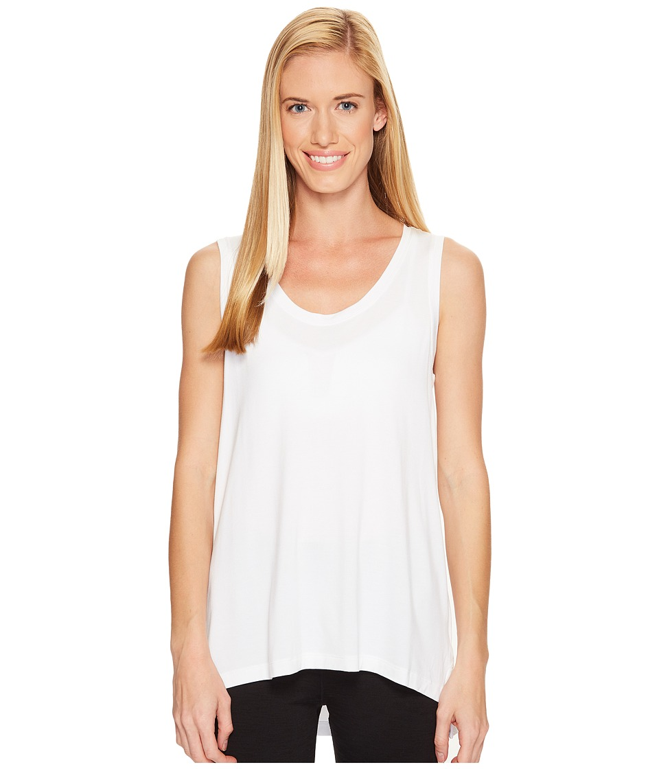 Lole - Candice Tank Top (White) Women's Sleeveless
