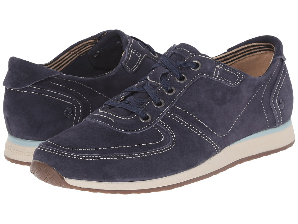 Hush Puppies Chazy Dayo (Navy Suede) Women