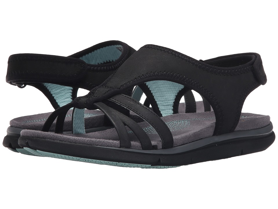 Hush Puppies - Miranda Aida (Black Nubuck) Women's Sandals