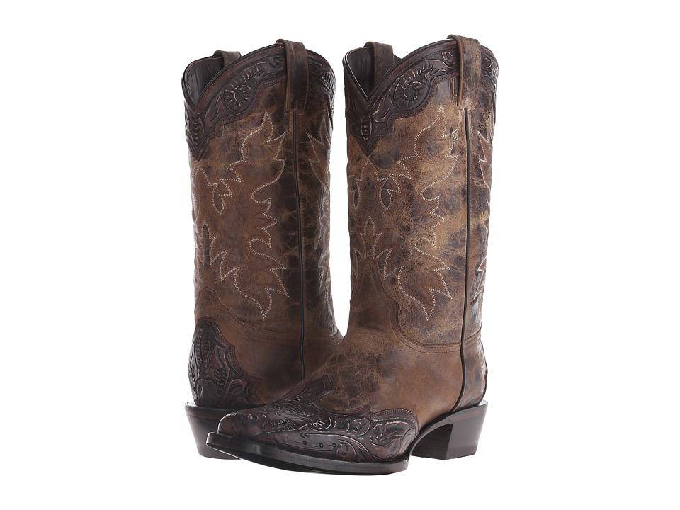 Stetson - Delamar (Brown) Cowboy Boots