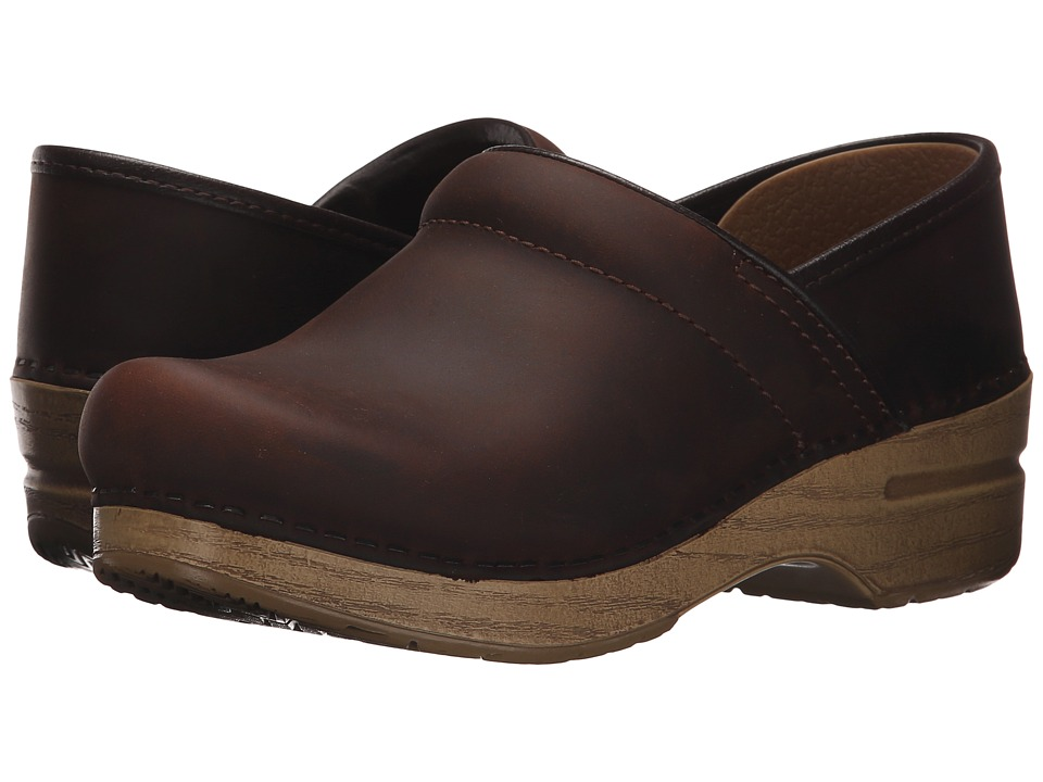 Dansko - Professional (Antique Brown) Women's Clog Shoes