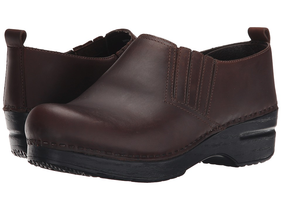 Dansko Piet (Antique Brown Oiled) Women