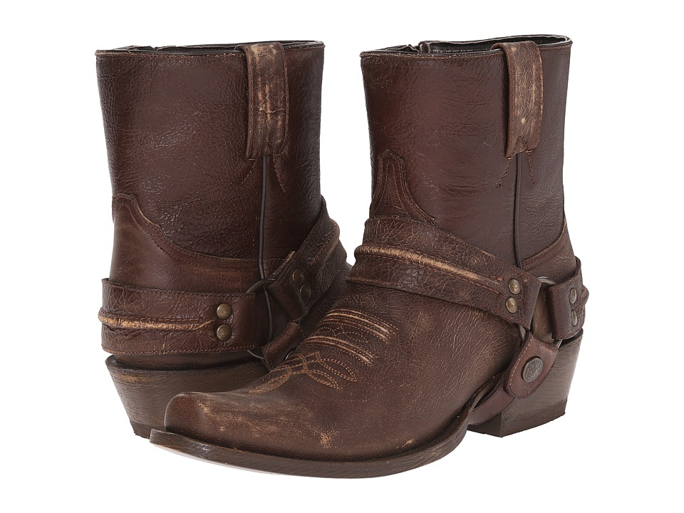 Stetson - Quickdraw (Sanded Brown) Cowboy Boots