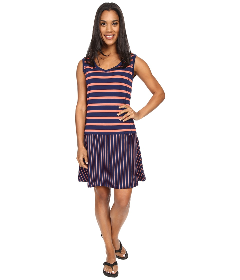 Lole Arleta Dress (Mirtillo Blue Stripe) Women
