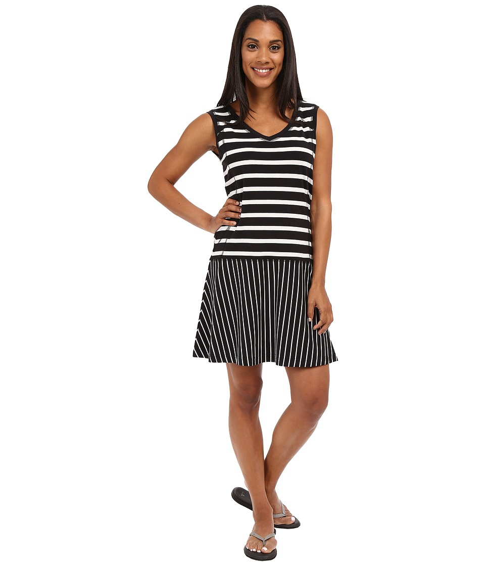 Lole Arleta Dress (Black Stripe) Women