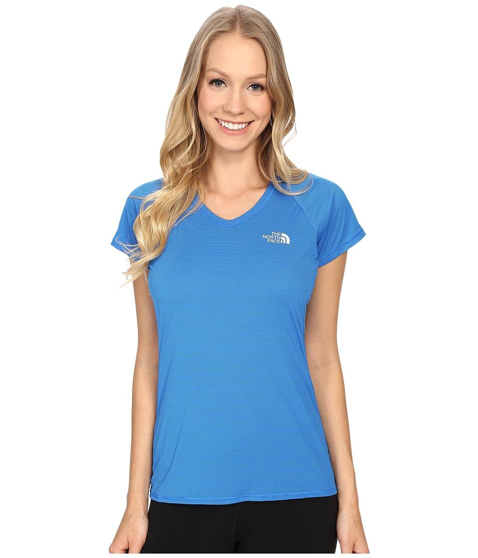 The North Face - Better Than Naked Short Sleeve (Bomber Blue/TNF White) Women's Short Sleeve Pullover