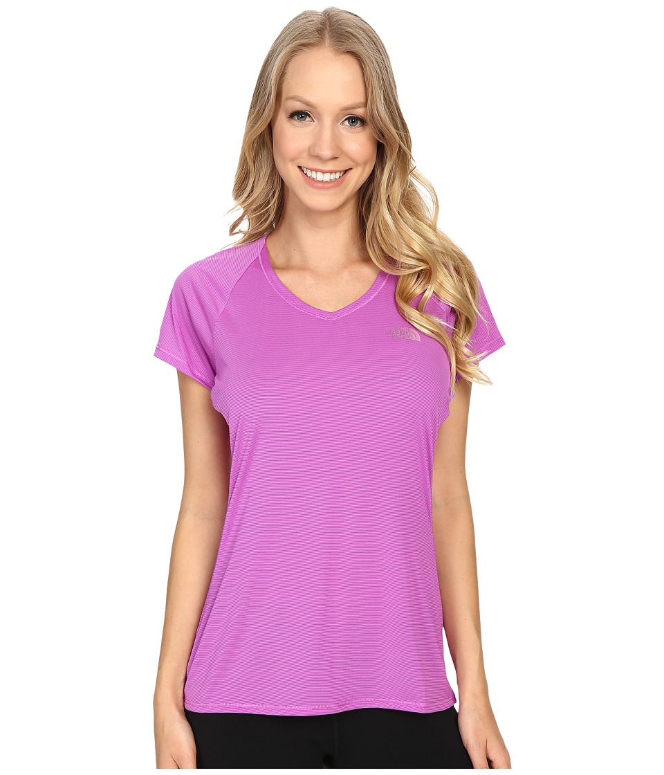 The North Face Better Than Nakedtm Short Sleeve (Sweet Violet/TNF White (Prior Season)) Women