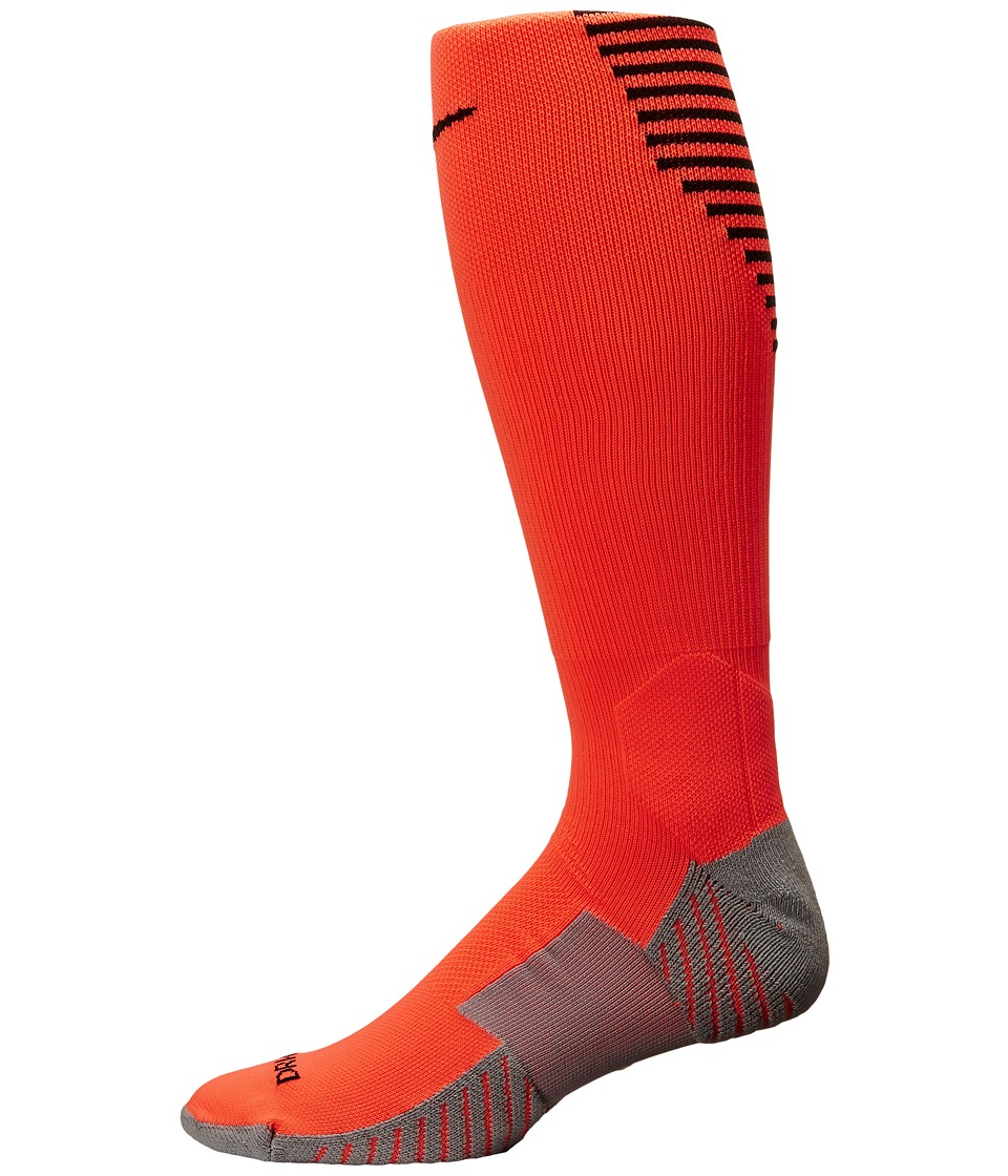 Nike - Nike Stadium Football OTC (Hyper Orange/Black/Black) Men's Knee High Socks Shoes