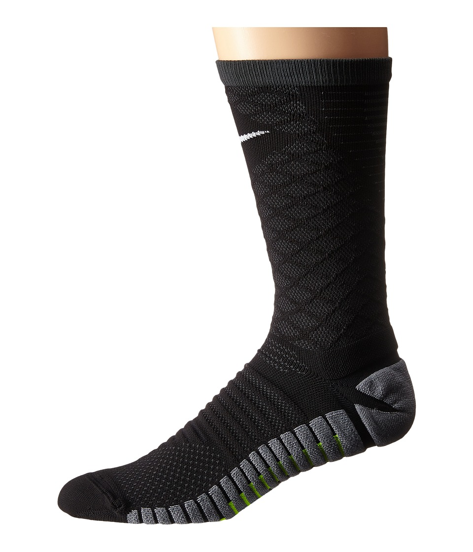 Nike - Nike Strike Tiempo Crew (Black/Anthracite/White) Crew Cut Socks Shoes