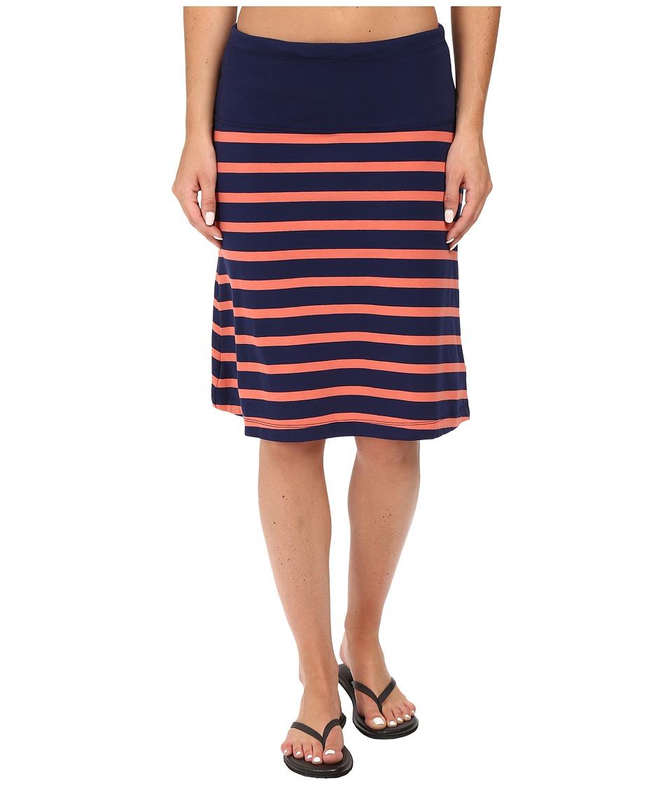 Lole Lunner Skirt (Mirtillo Blue Stripe) Women