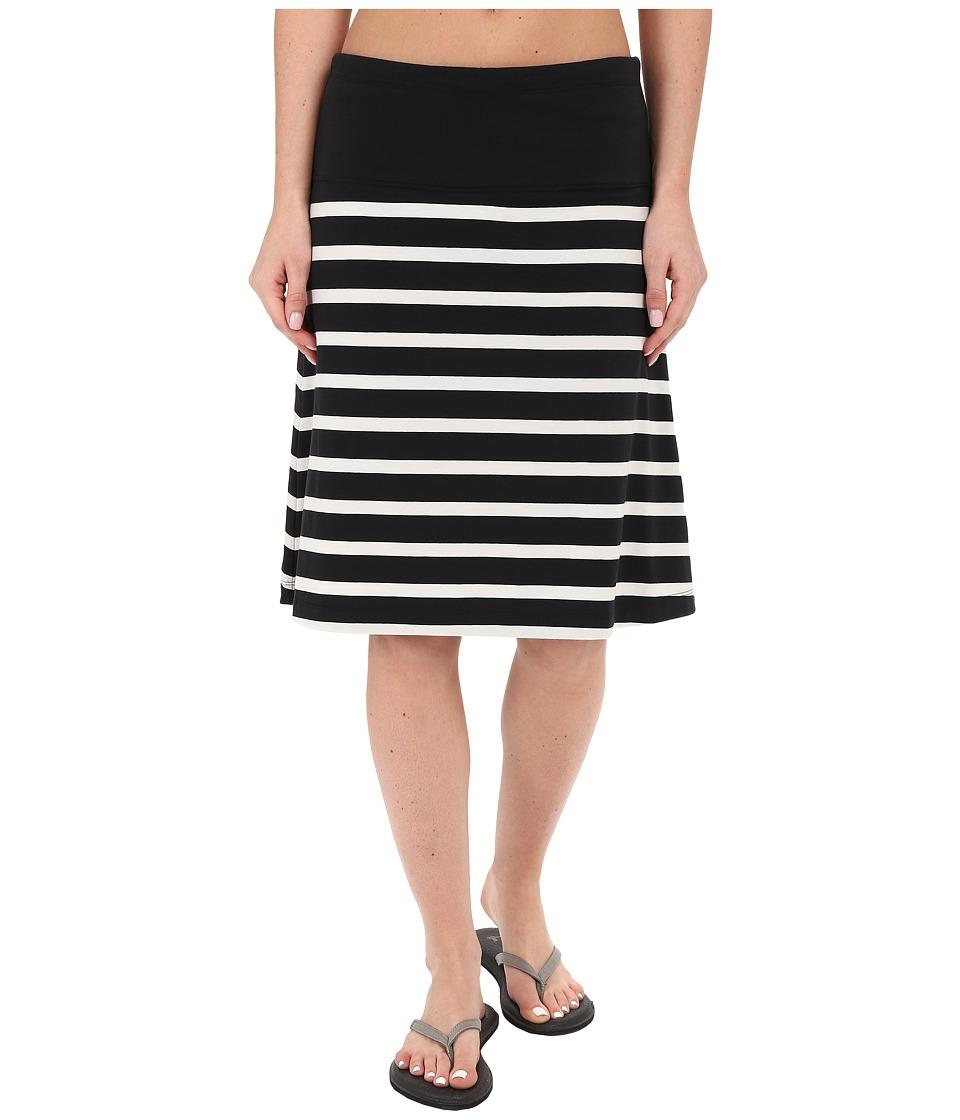 Lole Lunner Skirt (Black Stripe) Women