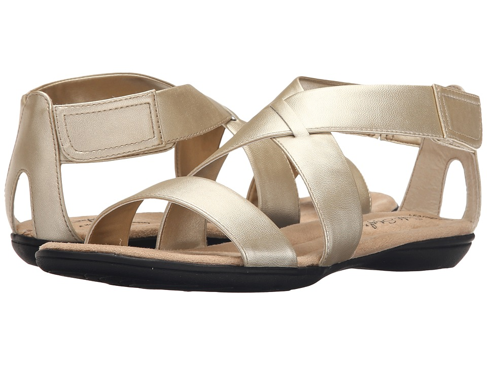 Soft Style - Eriel (Platinum Leather) Women's Sandals