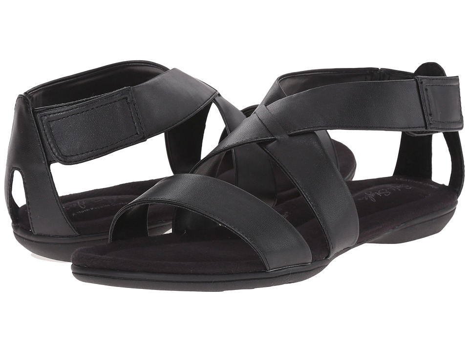 Soft Style - Eriel (Black Leather) Women's Sandals