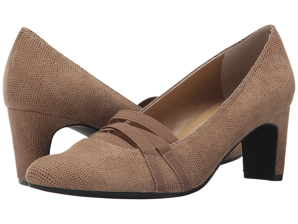 Vaneli - Deirdre (Truffle Molly Rodi/Match Elastic) Women's 1-2 inch heel Shoes