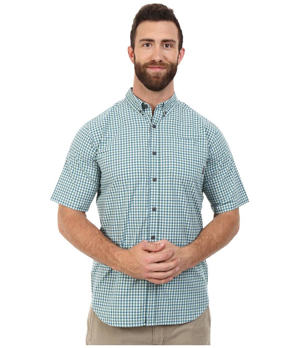 Columbia - Plus Size Rapid Rivers II Short Sleeve Shirt (Gemstone Plaid) Men's Clothing
