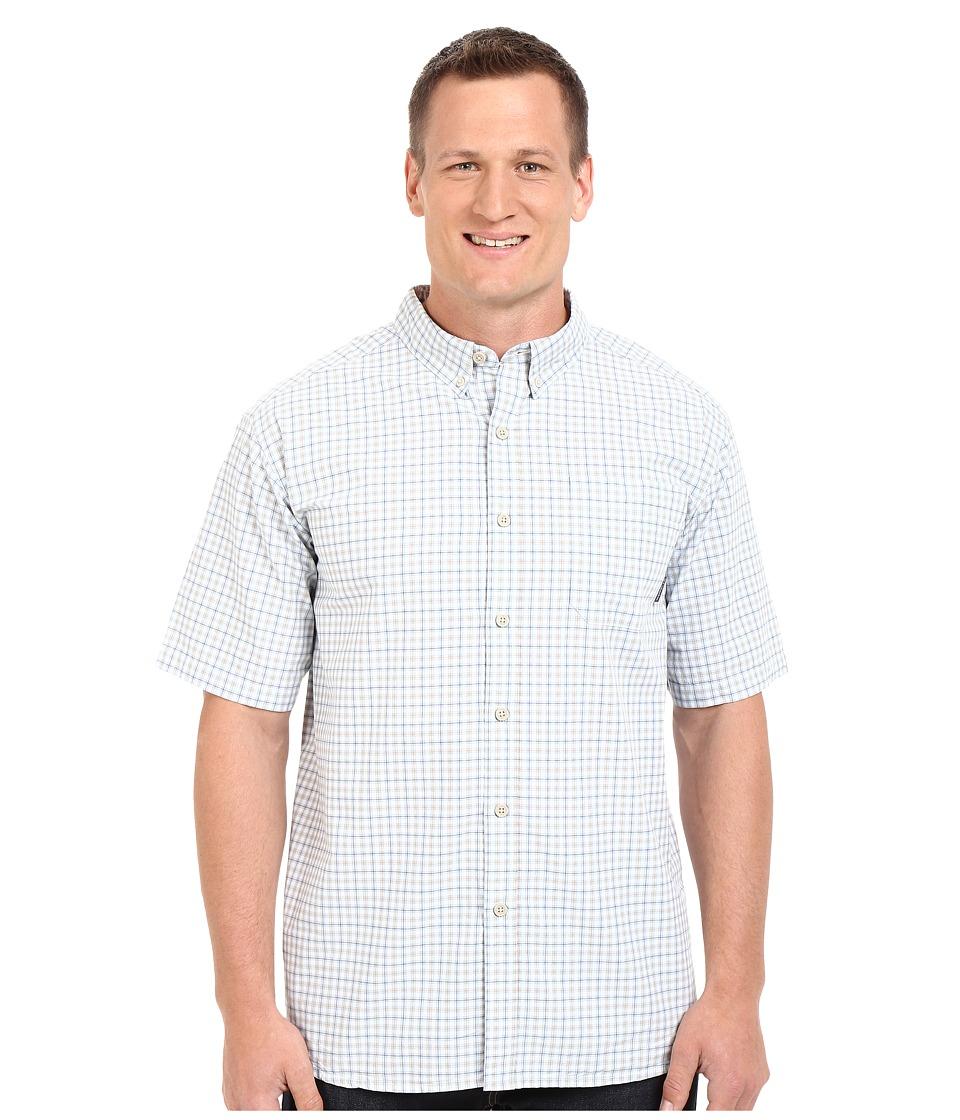Columbia - Plus Size Rapid Rivers II Short Sleeve Shirt (Tusk Plaid) Men's Clothing