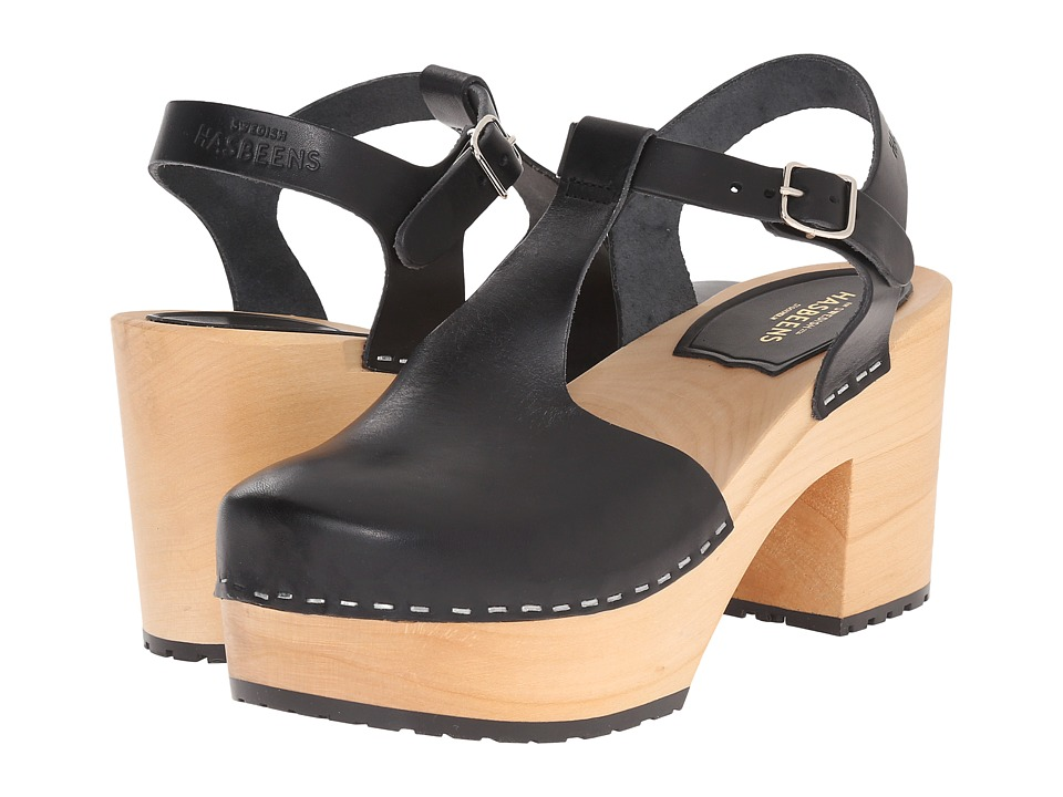 Swedish Hasbeens Lotta (Black) High Heels