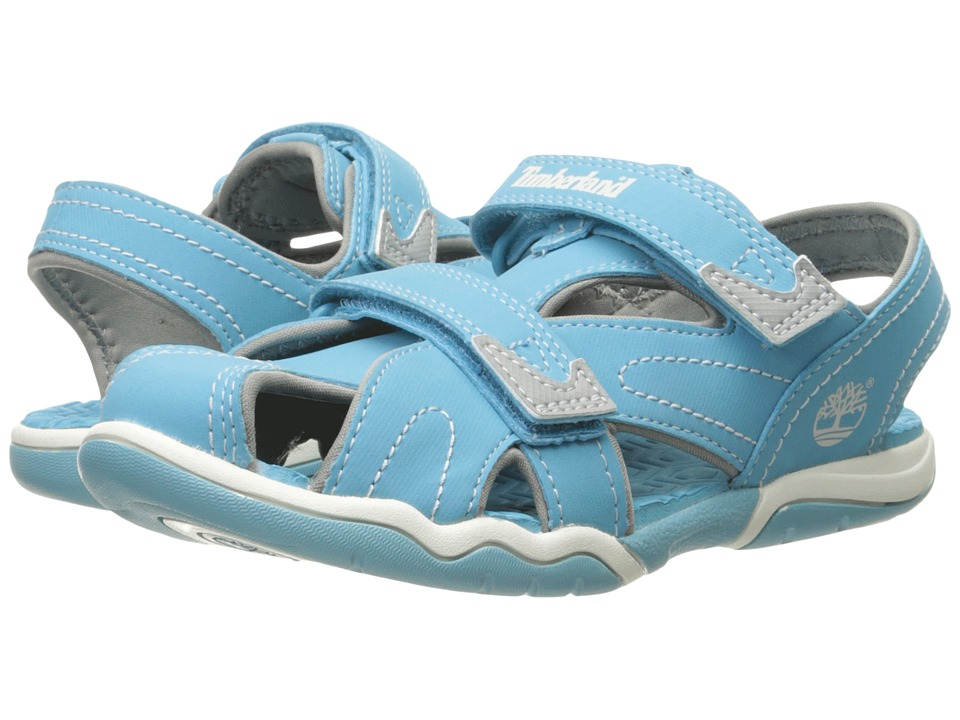 Timberland Kids - Adventure Seeker Closed Toe Sandals (Little Kid) (Lite Blue) Kid's Shoes