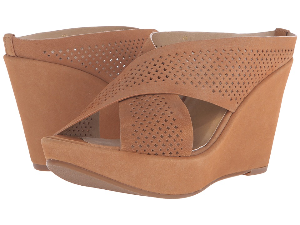 Vaneli - Elfry (Cuoio Nubia Perf) Women's Wedge Shoes
