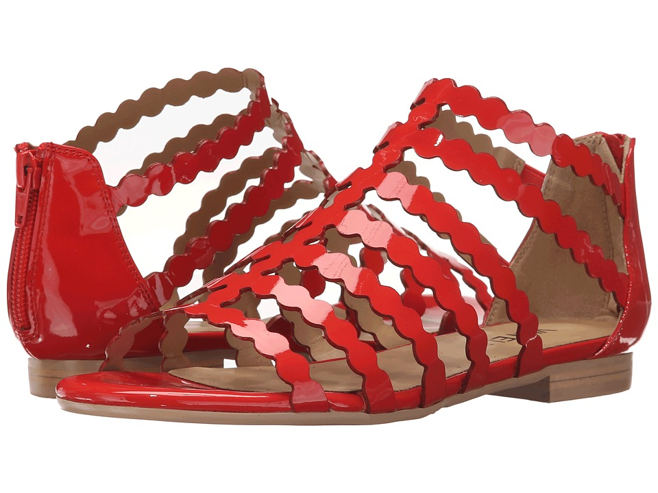 Vaneli - Emele (Poppy Red Patent) Women's Sandals