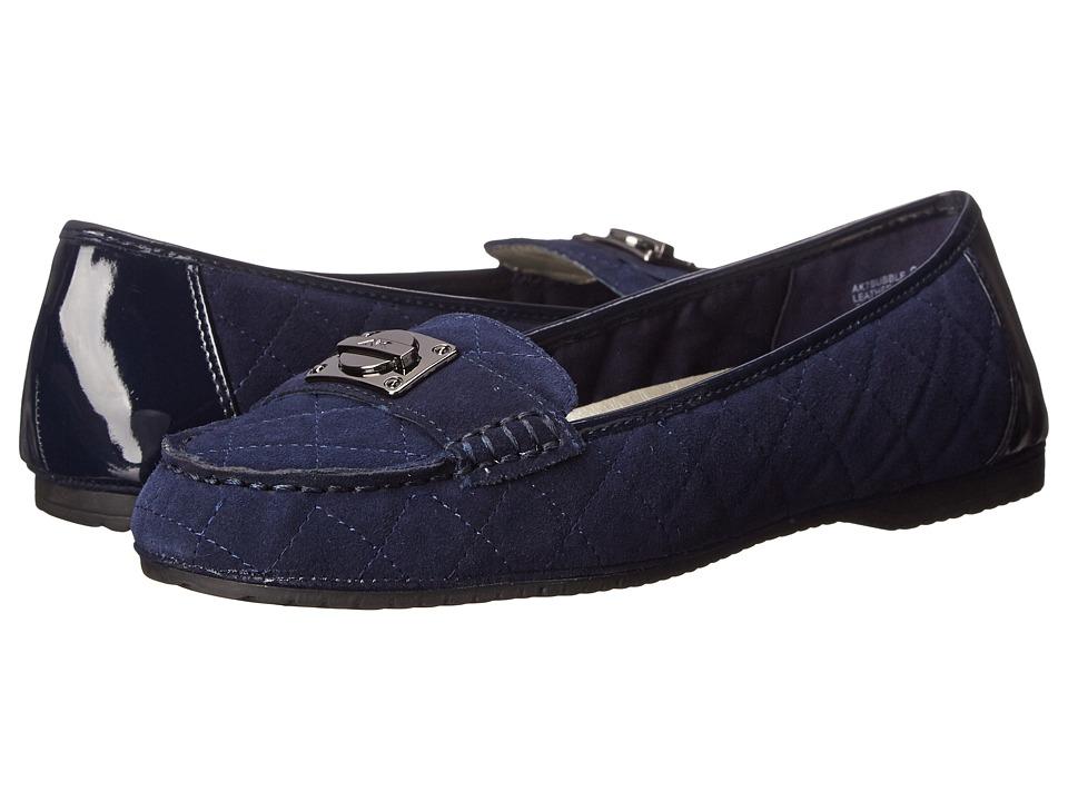 Anne Klein - Bubble (Navy Multi) Women's Flat Shoes