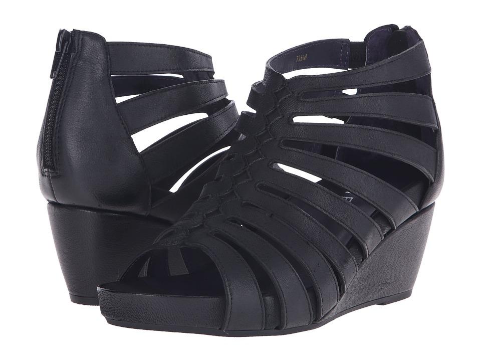 Vaneli - Ismar (Black Nubia/Match Zip) Women's Sandals