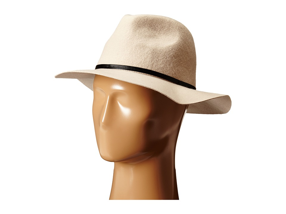 BCBGeneration - Rivet Panama (Stone) Traditional Hats