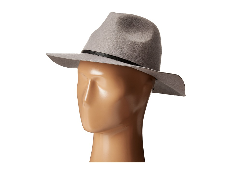 BCBGeneration - Rivet Panama (Pebble Grey) Traditional Hats