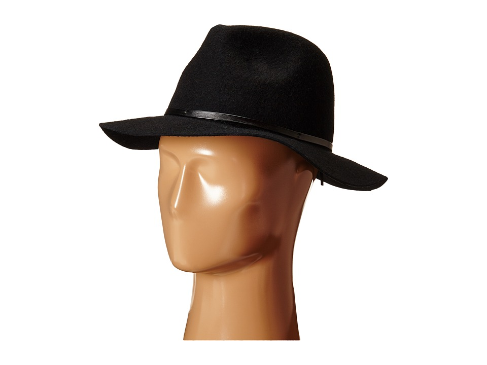 BCBGeneration - Rivet Panama (Black) Traditional Hats