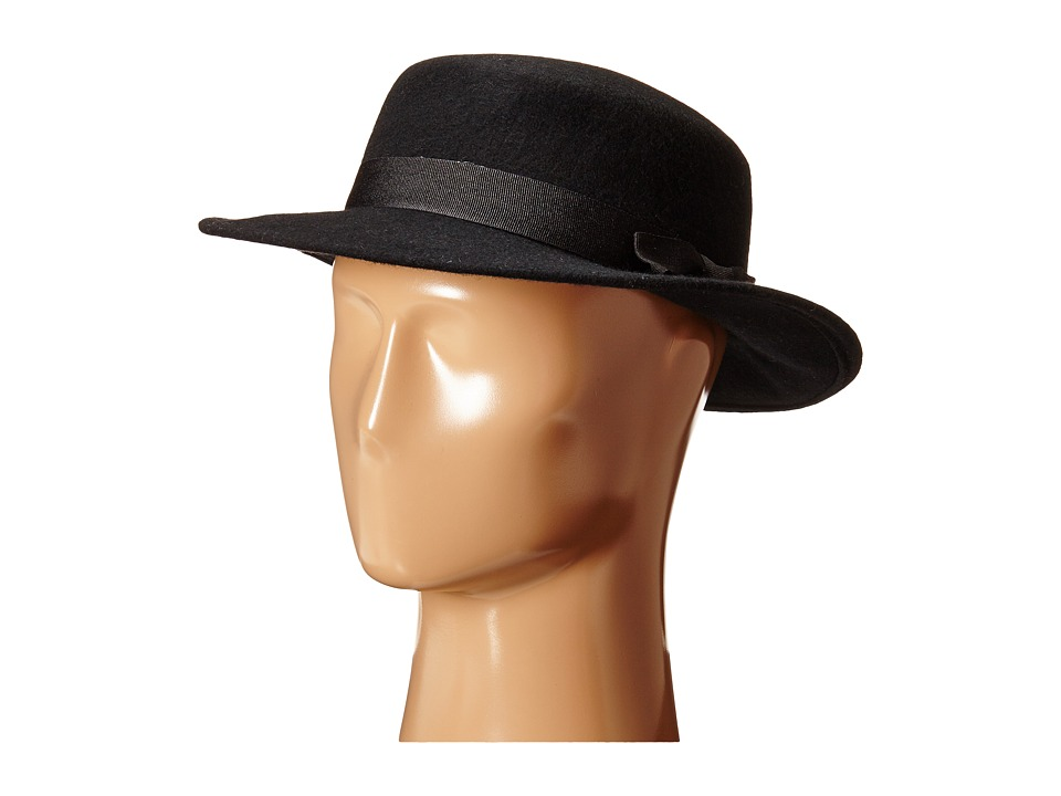 BCBGeneration - Fresh Boater (Black) Traditional Hats