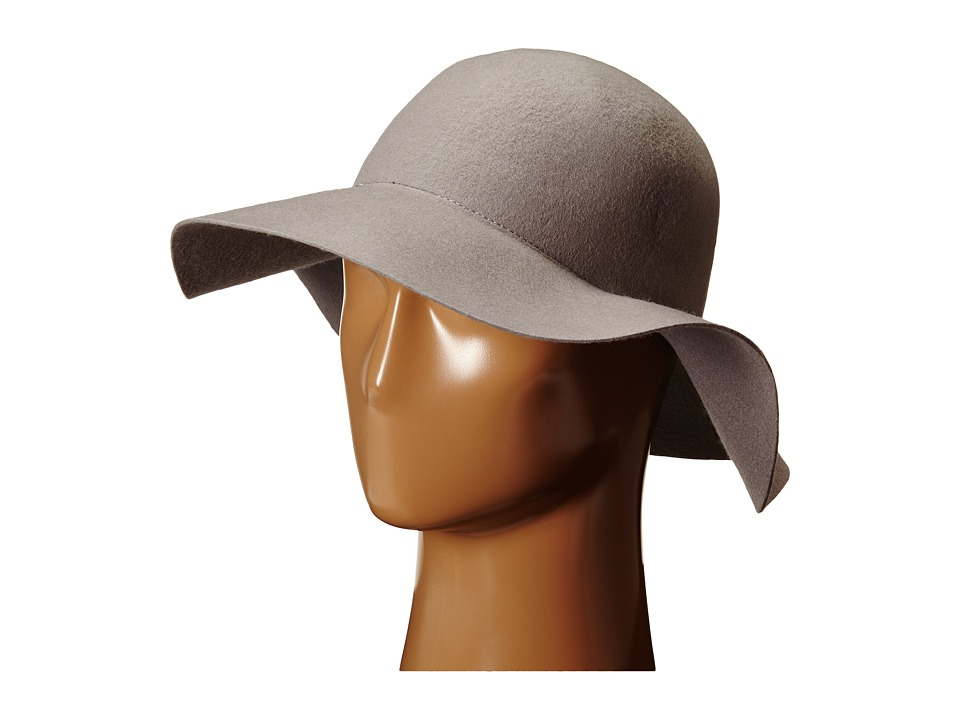 BCBGeneration - Classic Floppy (Pebble Grey) Traditional Hats