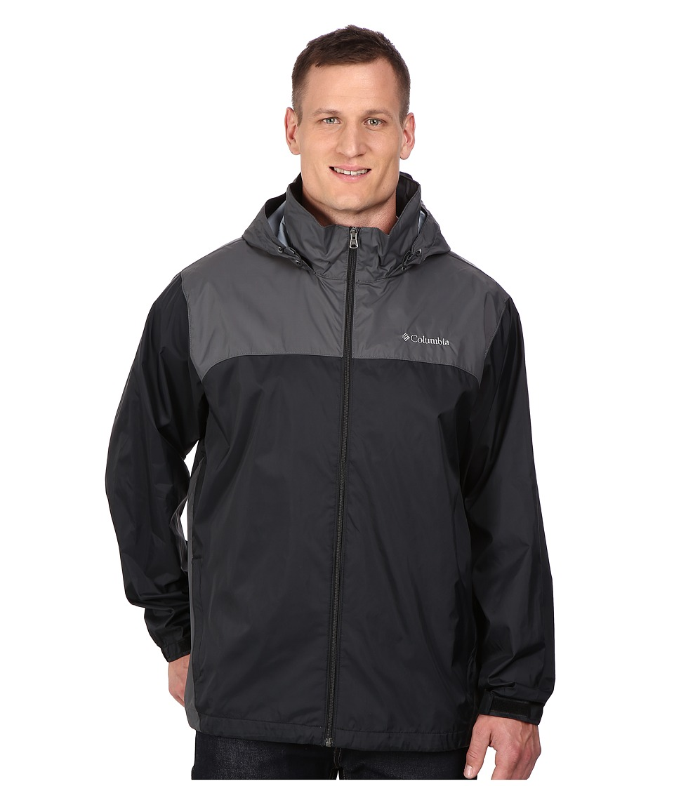 Columbia - Big Tall Glennaker Lake Jacket2 (Black/Grill) Men's Coat