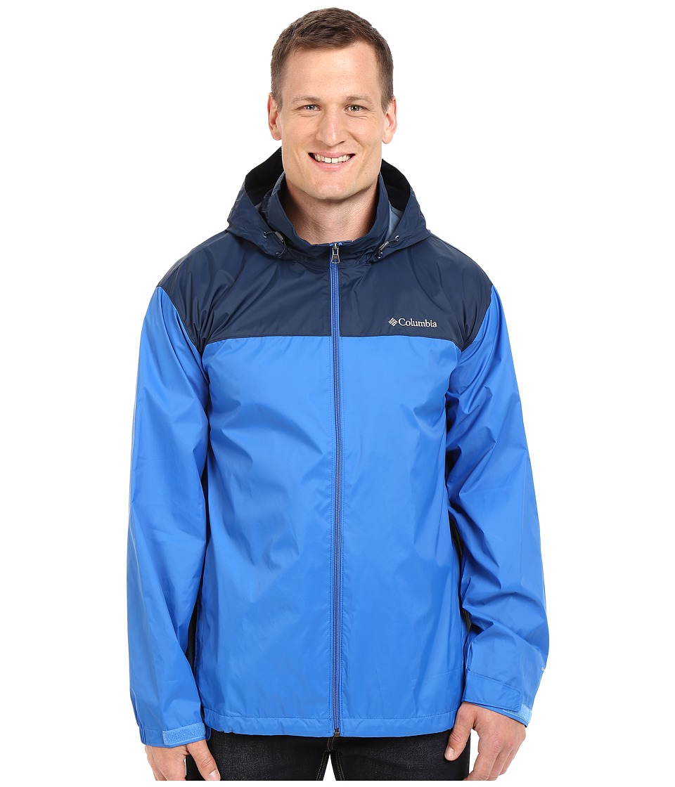 Columbia - Big Tall Glennaker Lake Jacket2 (Blue Jay/Columbia Navy) Men's Coat