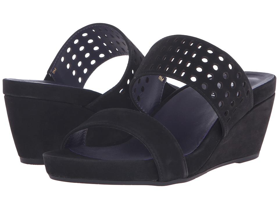 Vaneli - Ivalyn (Black Loc Nabuk) Women's Wedge Shoes