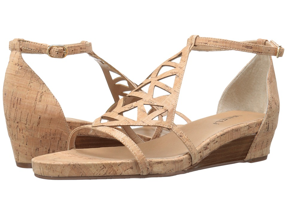 Vaneli - Kaddy (Natural Cork/Gold Buckle) Women's Sandals