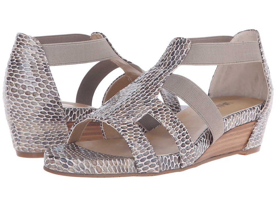 Vaneli - Kamlyn (Taupe Per Print/Match Elastic) Women's Sandals