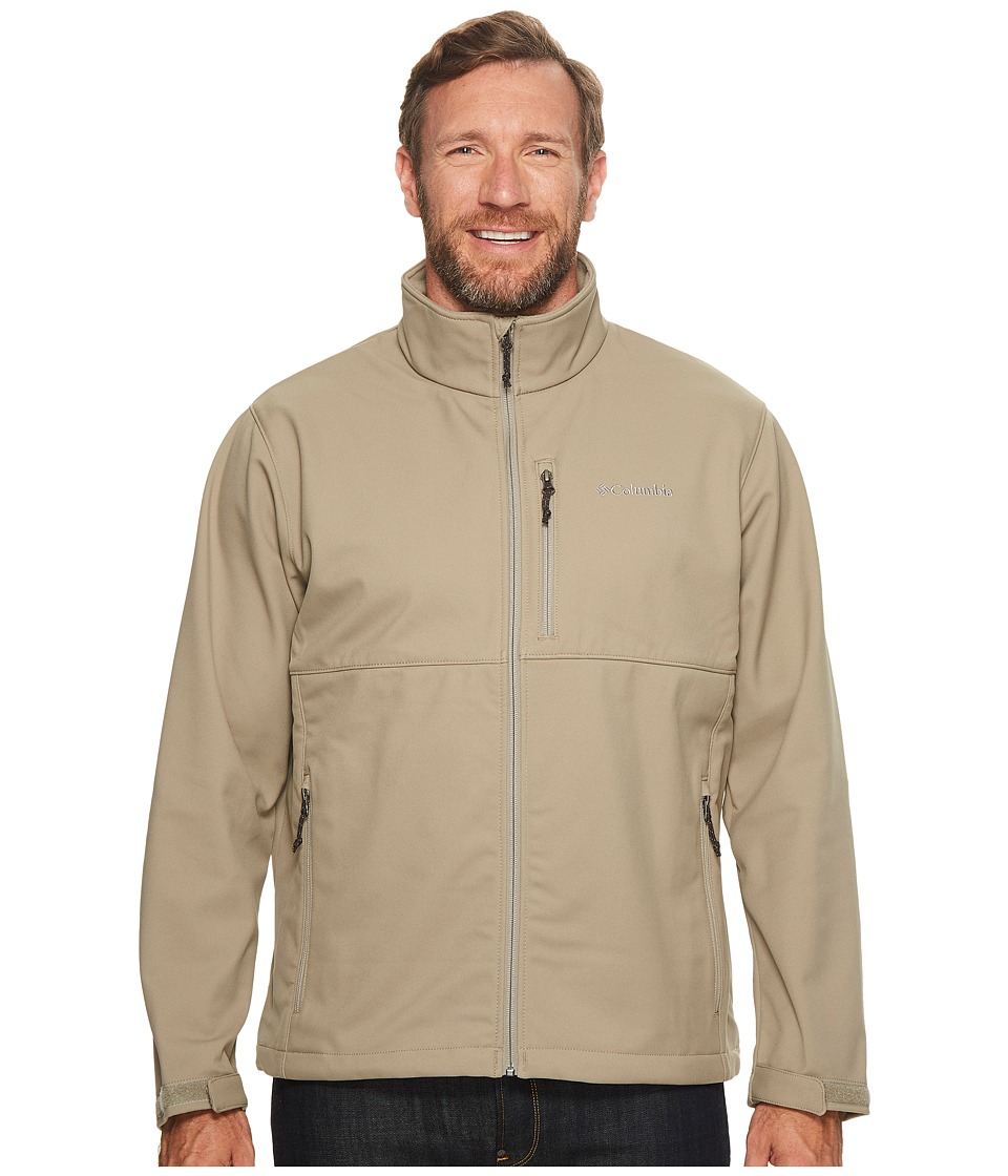 Columbia Plus Size Ascendertm Softshell Jacket (Tusk) Men