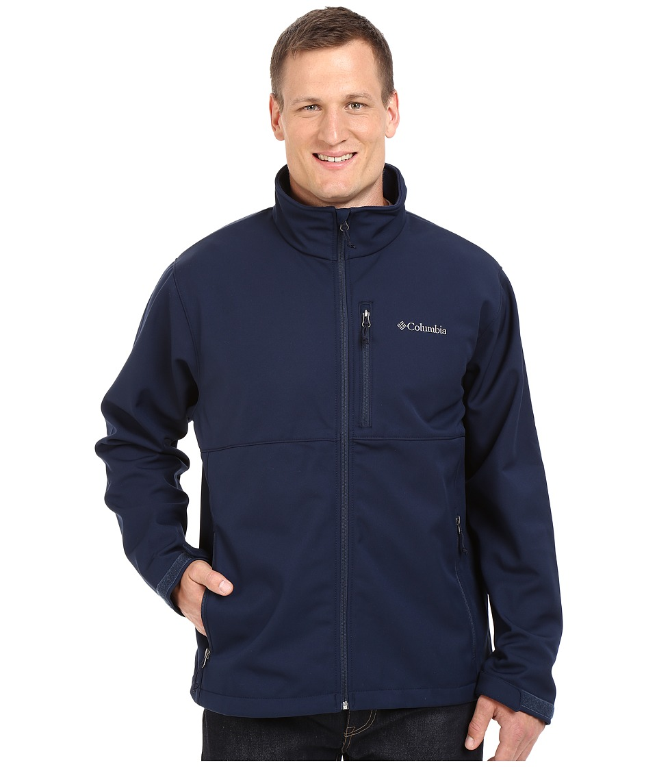 Columbia - Plus Size Ascender Softshell Jacket (Collegiate Navy) Men's Coat