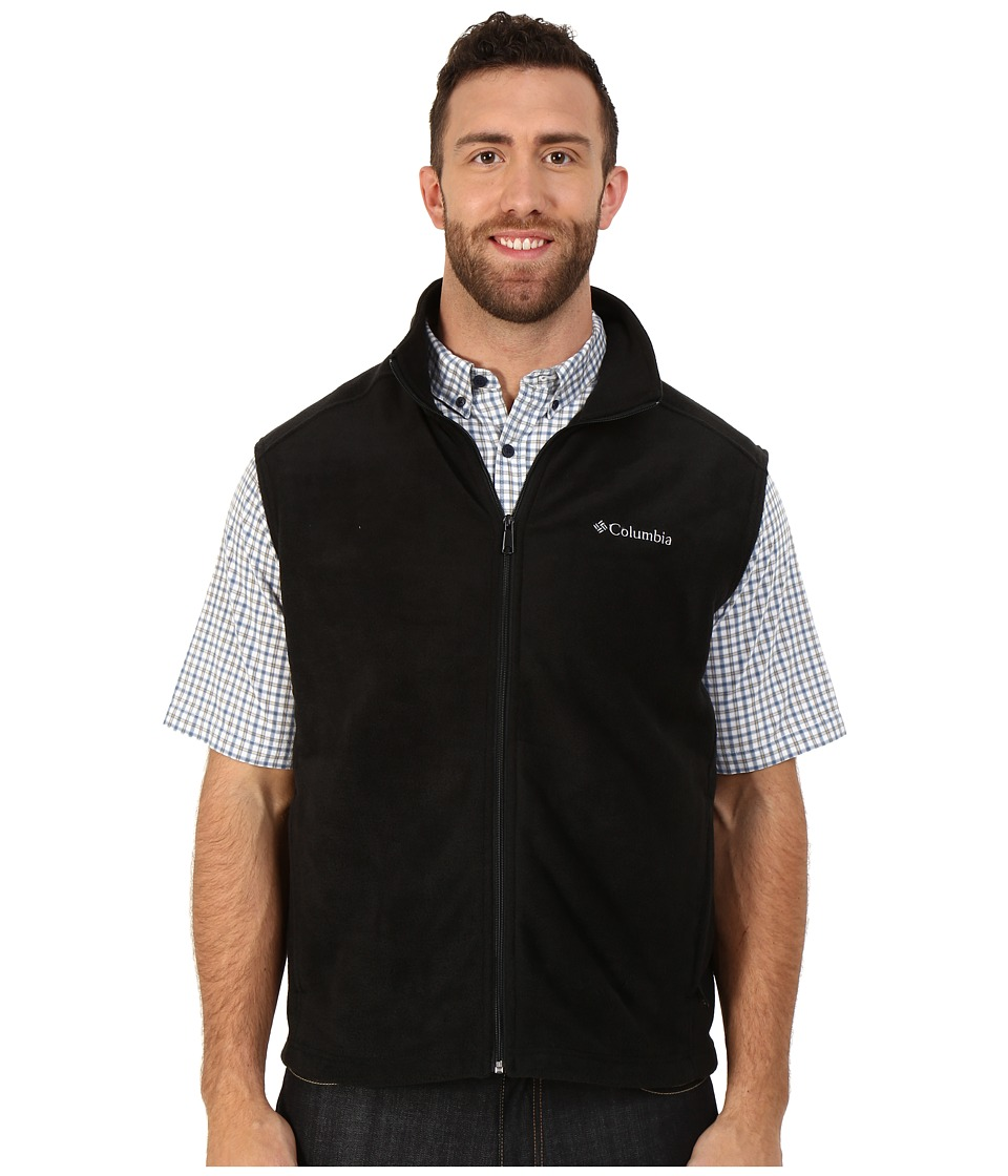 Columbia - Big Tall Cathedral Peak II Vest (Black) Men's Vest