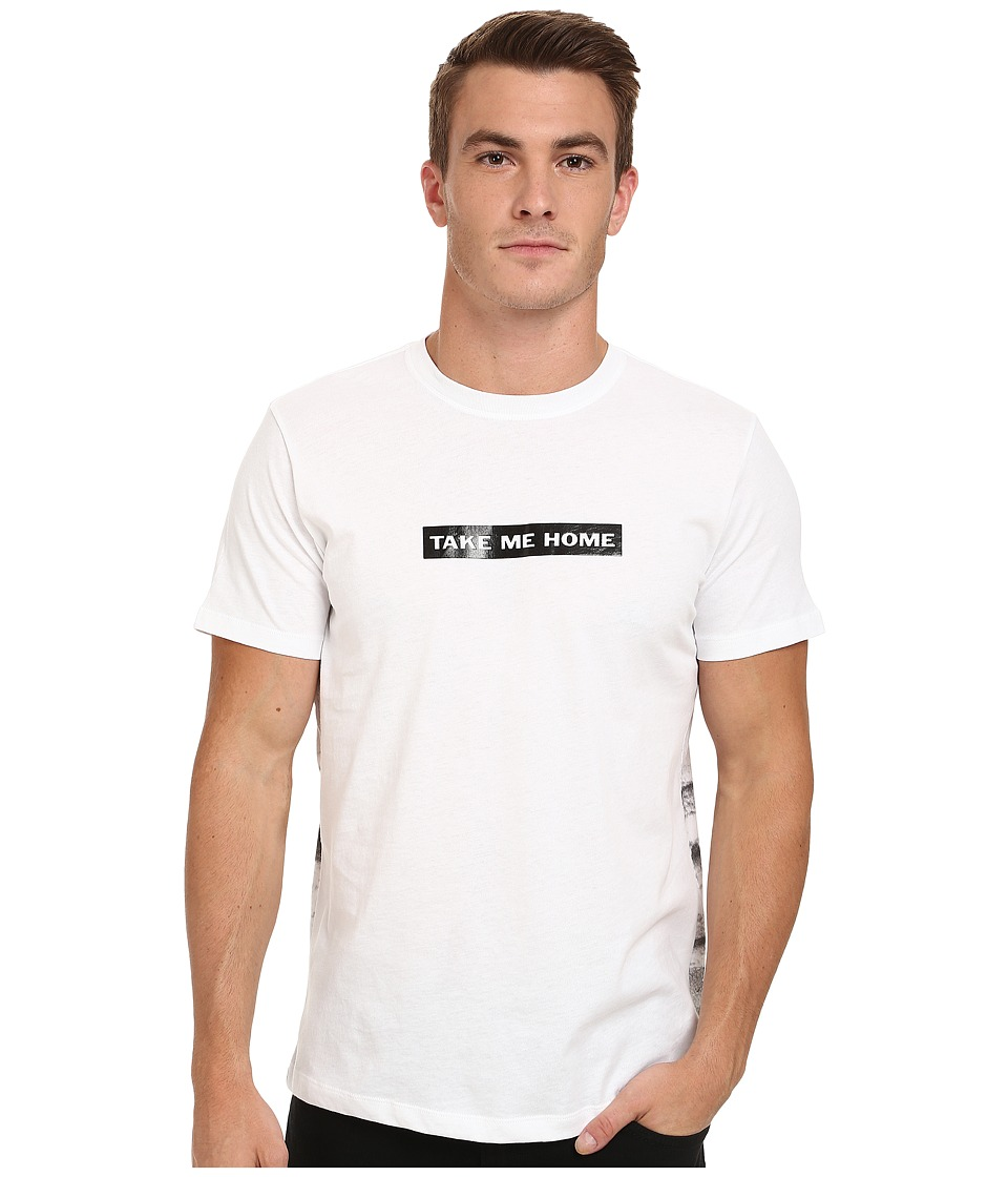 Diesel - T-Buddis T-Shirt (White) Men's T Shirt