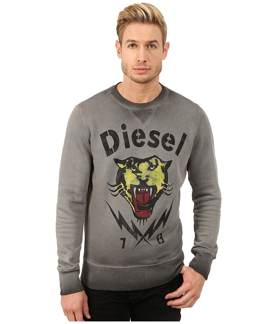Diesel - S-Romes Sweatshirt (Black) Men