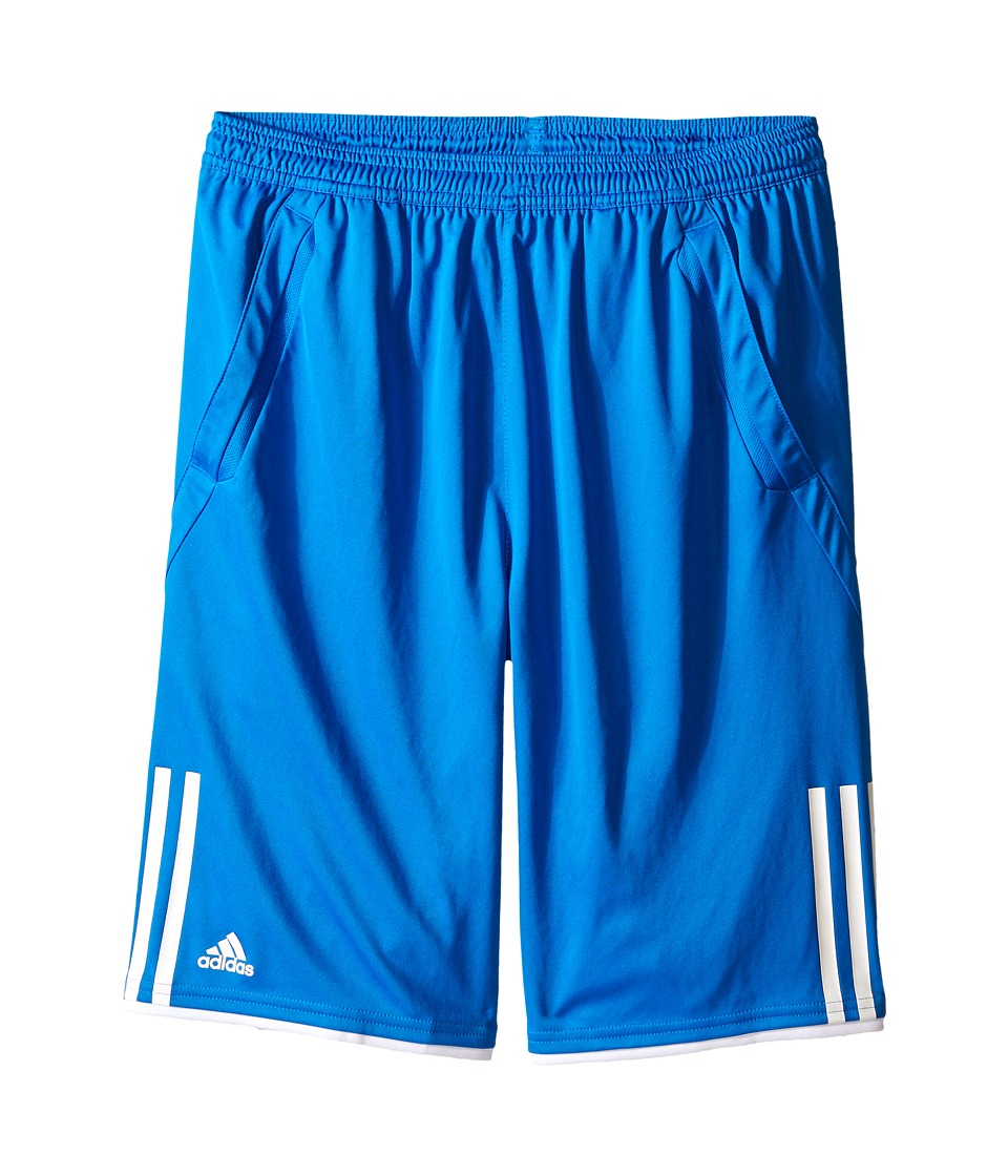 adidas Kids - Club Bermuda (Little Kids/Big Kids) (Shock Blue/White) Boy's Shorts