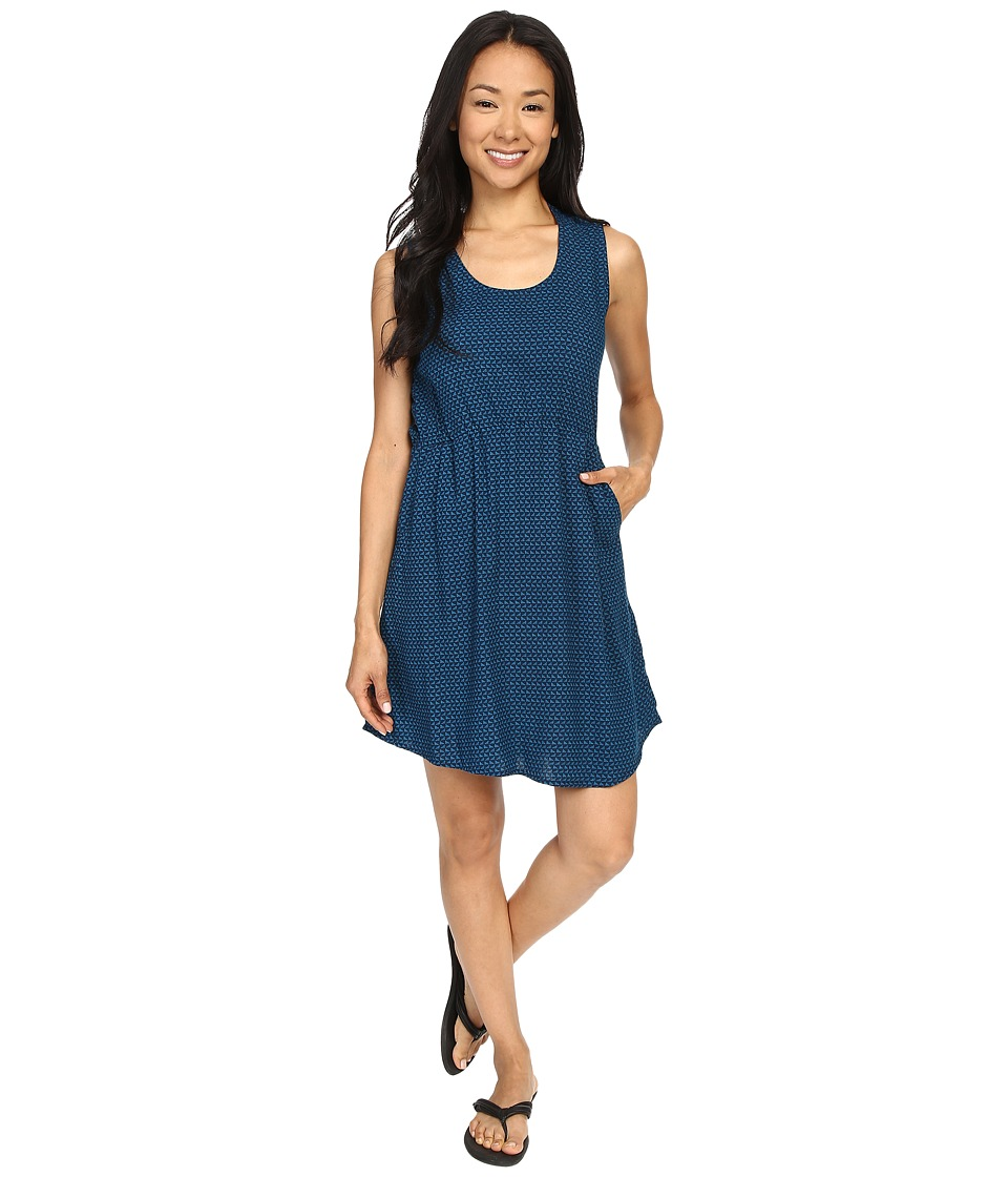 KAVU - Simone Dress (River Blue) Women's Dress