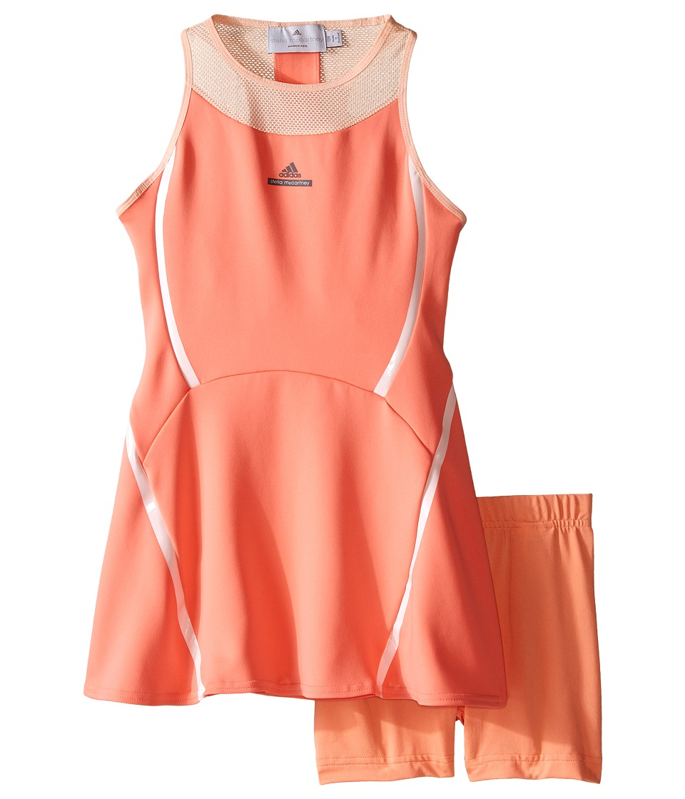 adidas Kids - Stella Dress (Little Kids/Big Kids) (Coral Pink/Powder Rose Pink) Girl's Dress